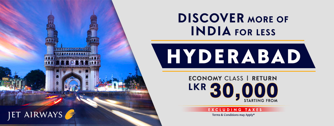 Discover more of India for less | Hyderabad - Jet Airways